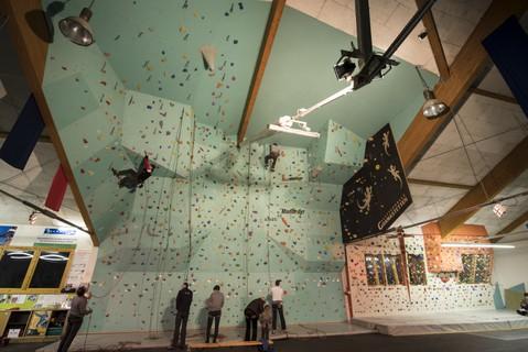 Kletterhalle Gramastetten öav Rock Climbing Thecrag