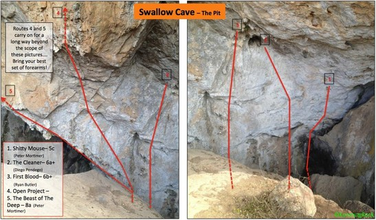 Swallow Cave Sport Climbing