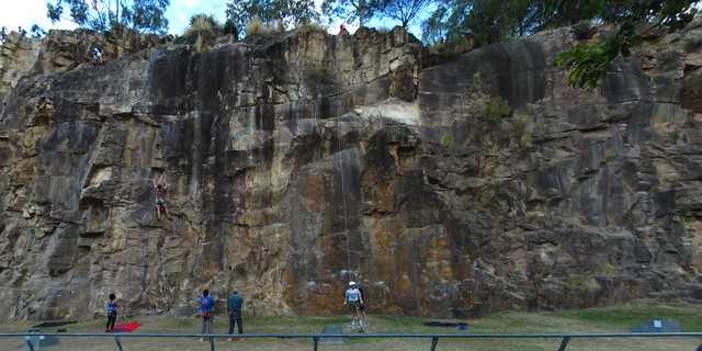 24 Honed And Buffed, 17m Sport climb in Kangaroo Point | theCrag